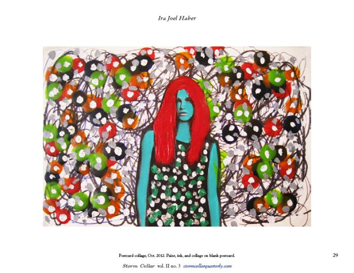 Ira Joel Haber – Postcard Collage sample1