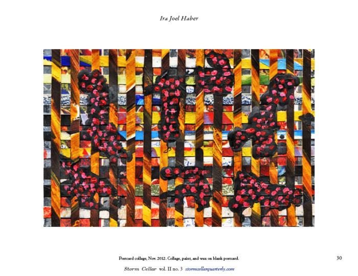 Ira Joel Haber – Postcard Collage sample2