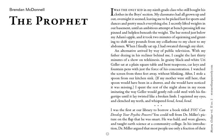 Brendan McDonnell - The Prophet[sample]