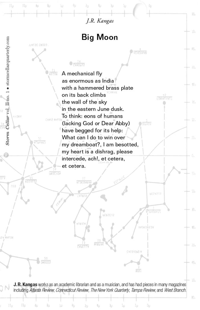 J. R. Kangas - Luminescence; Big Moon [sample]