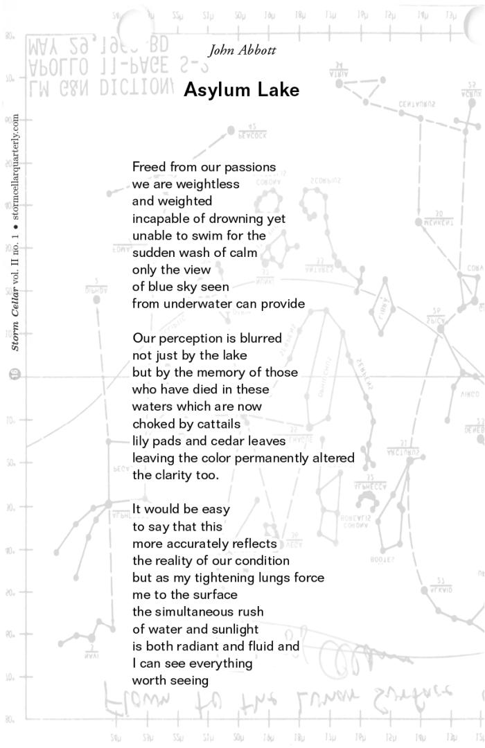 John Abbott - Asylum Lake [sample]