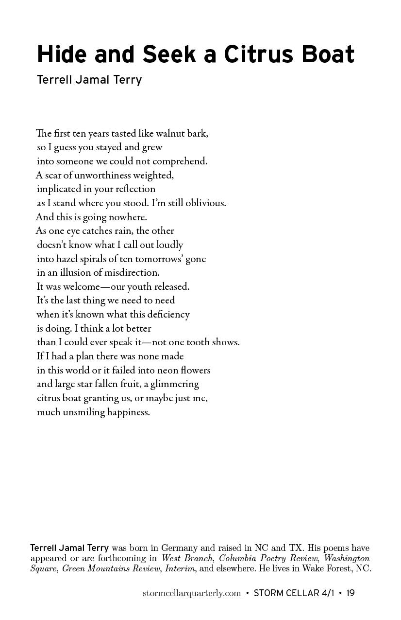 hide and seek poem