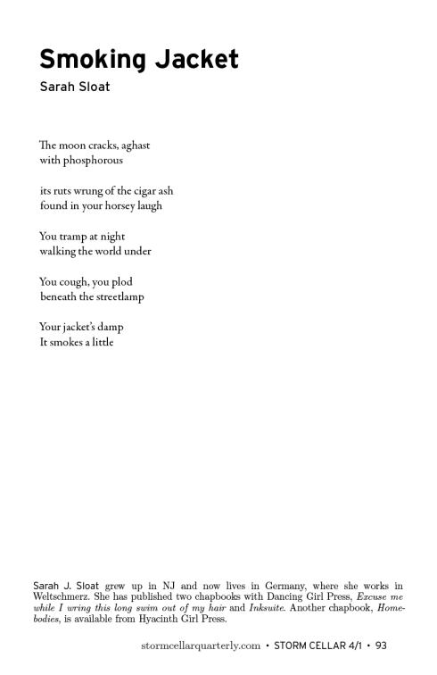 Sarah Sloat - Smoking Jacket[sample]