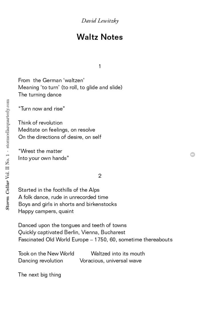 David Lewitzky - Waltz Notes[sample]